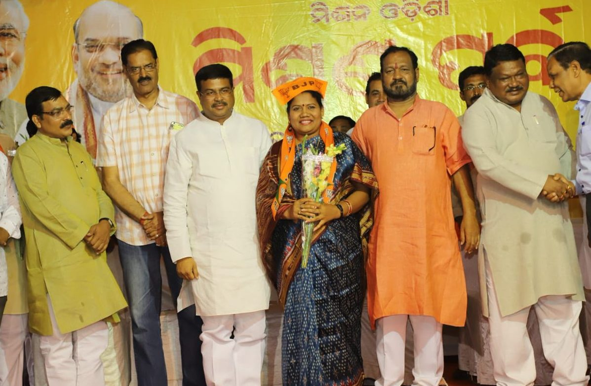 BJP declares candidates for 100 Assembly seats in Odisha,  Dama to contest from Balikuda-Erasama