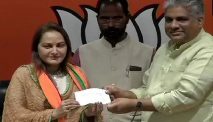 Actor-turned-politician Jaya Prada joins BJP, to contest from Rampur