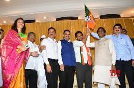 Red faces as Maha Congress leader's son joins BJP