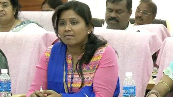 Ex-CMC corporator Ranjita Biswal arrested again
