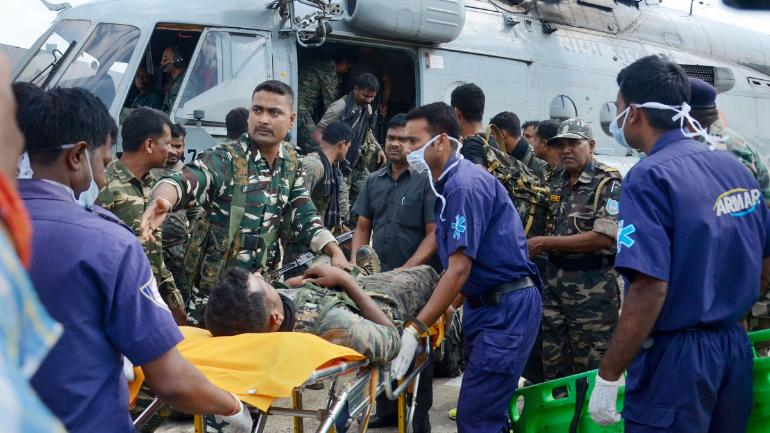 15 security personnel injured in Jharkhand IED blast