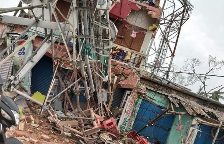Central team visits cyclone-hit Puri for damage assessment