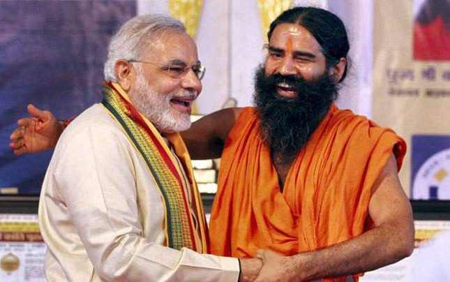 Modi pips Ramdev to become top fitness influencer