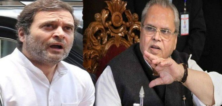 When can I come to J&K, asks Rahul to Malik