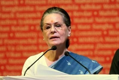 Sonia named interim president after Rahul firm on quitting