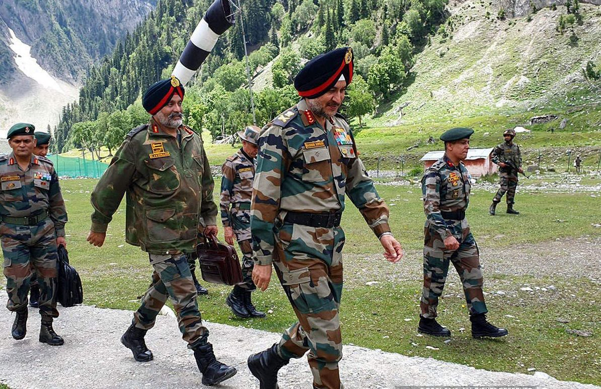 J&K: Army Commander chairs high-level core group meet