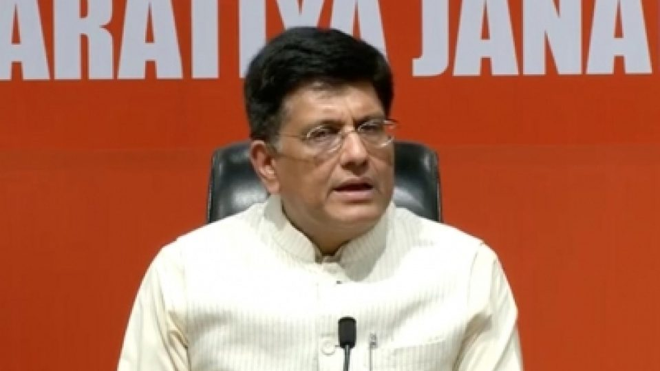 Goyal mixes up Einstein with gravity on growth pep talk