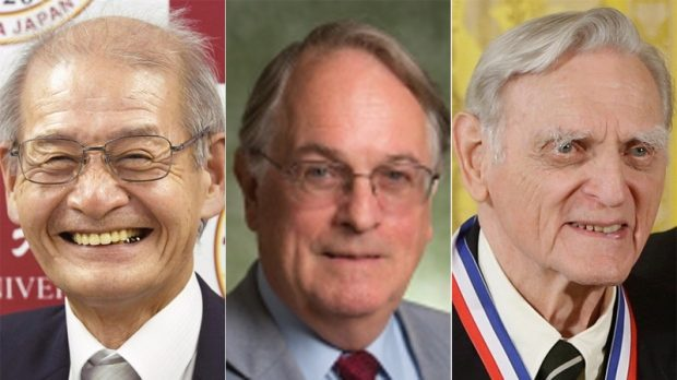 3 scientists win Nobel Prize in Chemistry for developing lithium-ion batteries