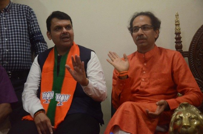 BJP pushing Maharashtra towards President's Rule, claims Sena