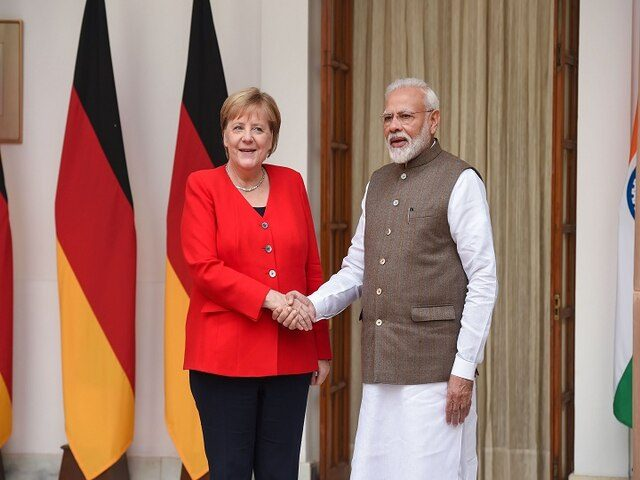 India, Germany ink 11 pacts after Modi-Merkel talks