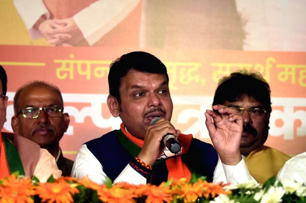 No talk of sharing CM's post with Sena: Fadnavis