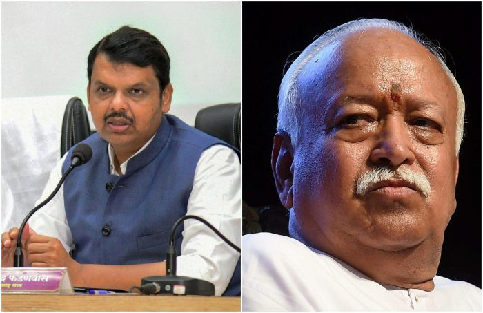 Has RSS advised Fadnavis to 'keep off' Sena?
