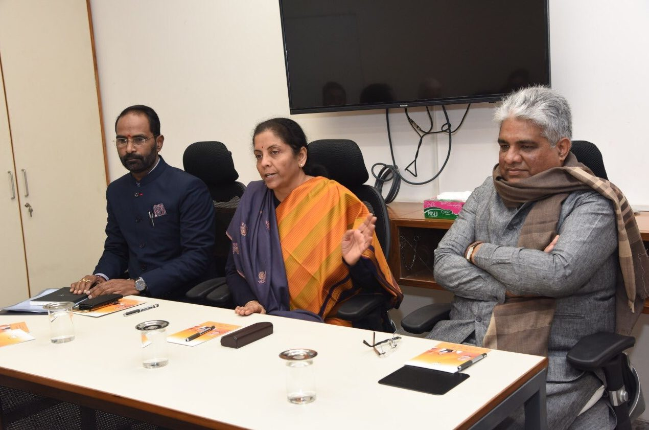 'Give us a Gaon, Gareeb, Kisan budget', Nirmala told by BJP
