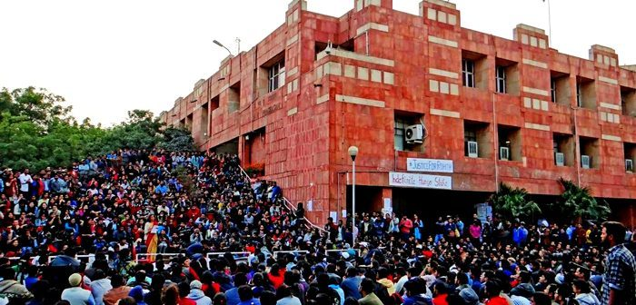 Normalcy returns to JNU after violence