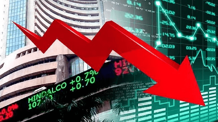 Sensex tanks 2,400 points, RIL logs worst fall in 10 years