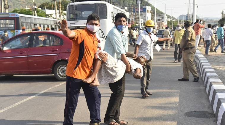 Another gas leakage at LG Polymers in Vizag triggers panic