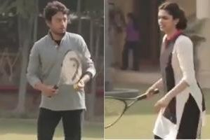 When Deepika and Irrfan played tennis