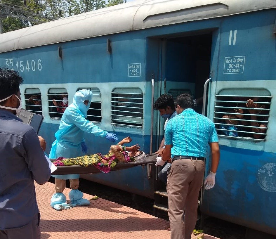 Woman on board special train delivers baby girl at Titilagarh station