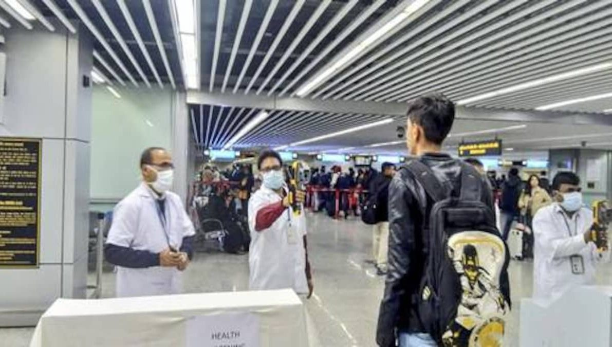 People in containment zone not allowed air travel
