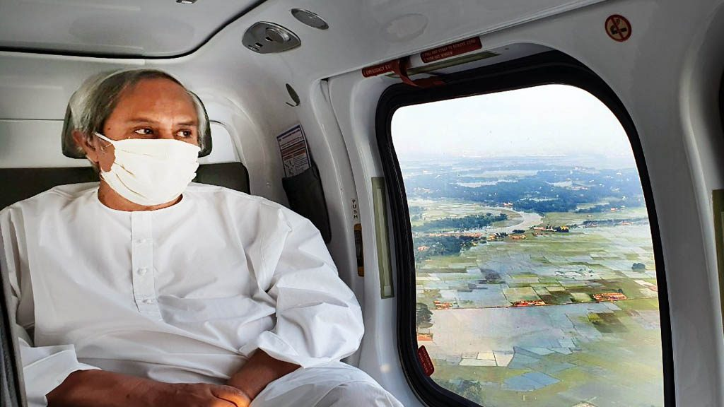 Naveen makes aerial survey of cyclone Amphan-hit areas