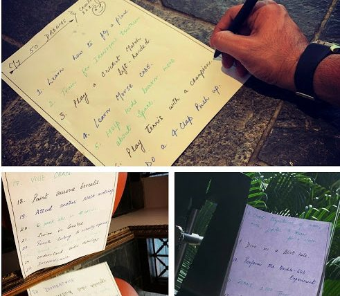 Sushant's handwritten list of 50 dreams goes viral