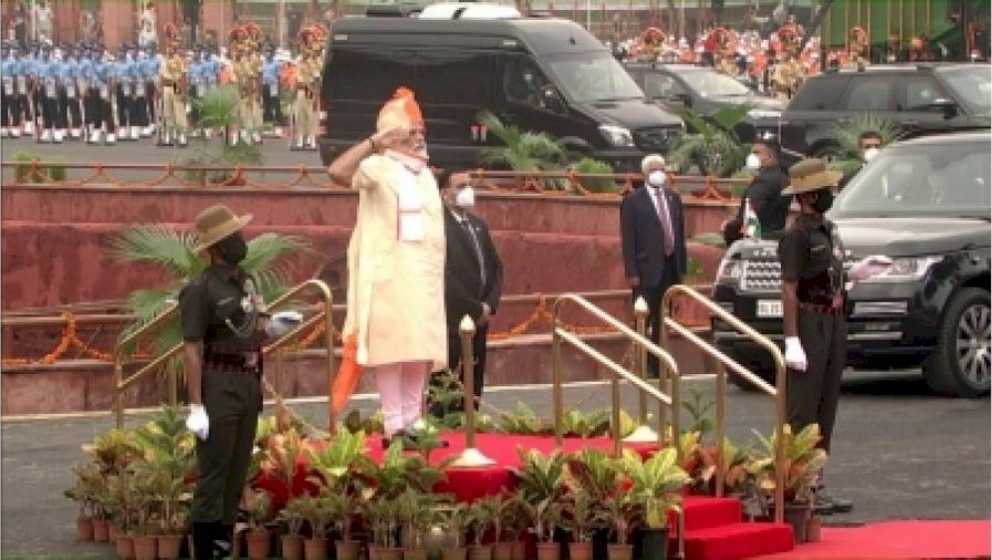 PM Modi's I-Day message to China: Respect for India's sovereignty is supreme