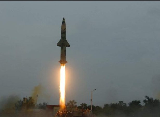 Night trial of nuclear-capable Prithvi-2 missile successful