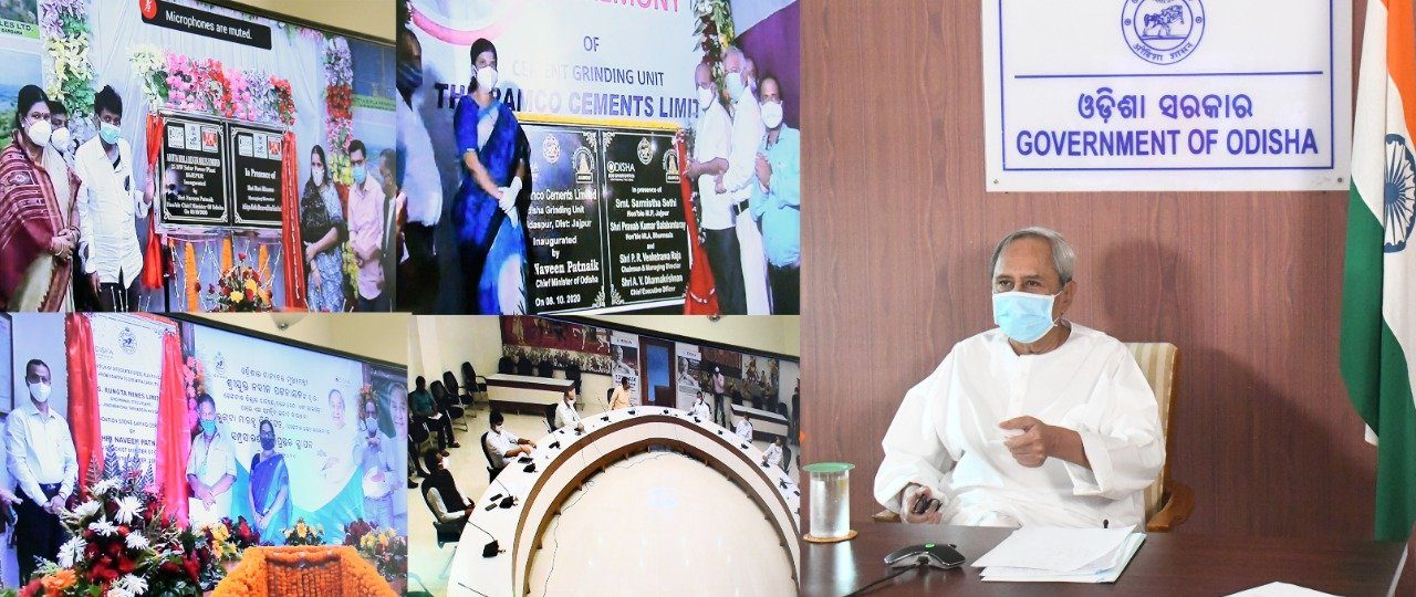 Naveen launches industrial projects worth over Rs 8,790 cr
