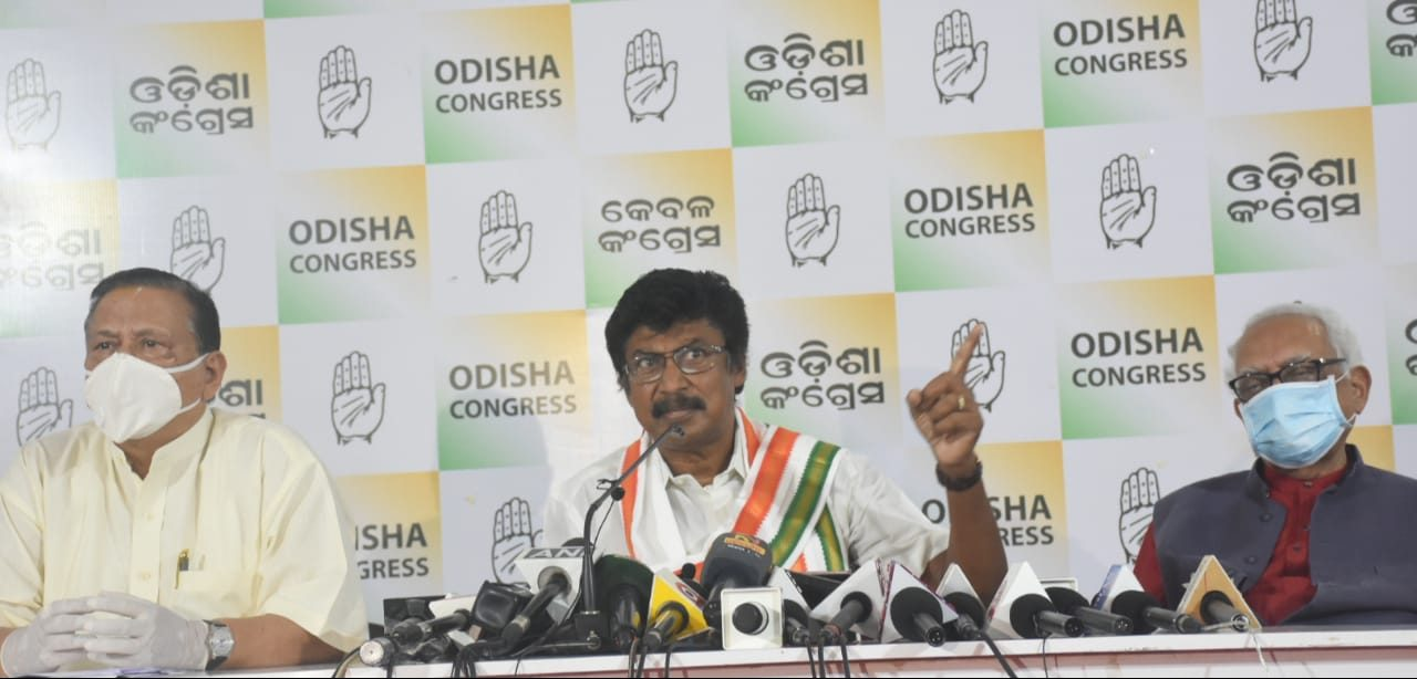 There is no political governance in Odisha, says Congress