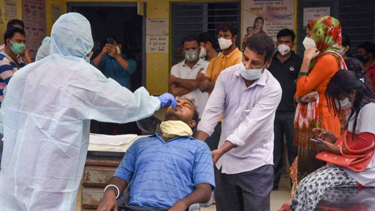 India records decline in new Covid cases, tally over 74L