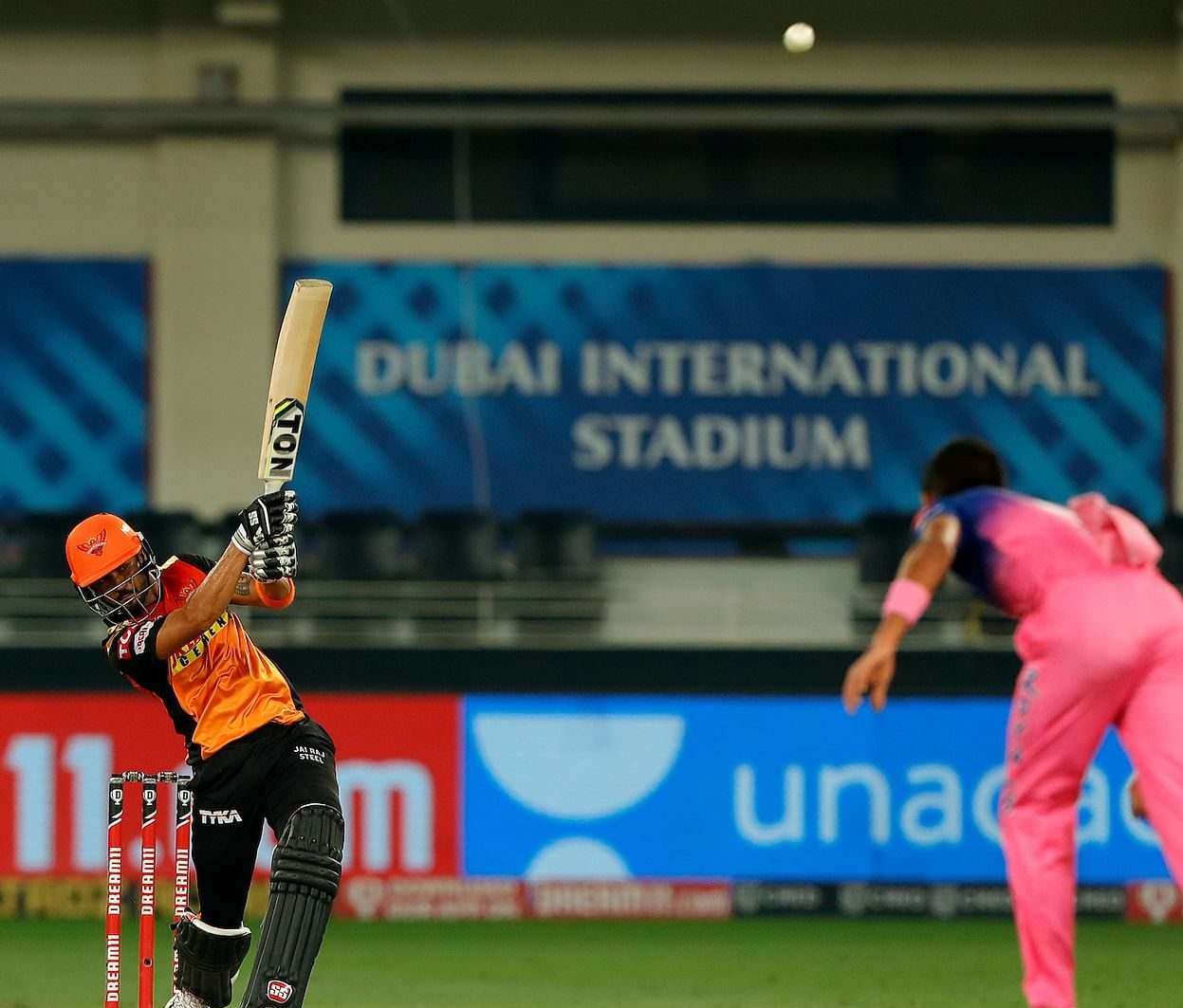 SRH ride Pandey-Shankar stand to beat RR, keep afloat