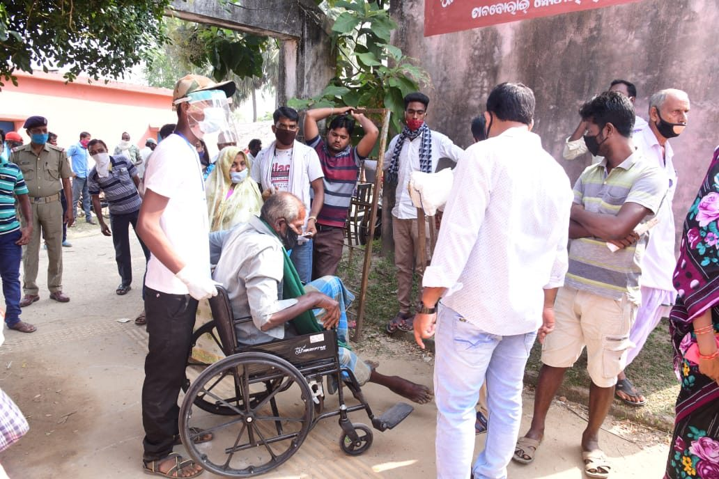 70.45 pc voting in two Assembly seats in Odisha