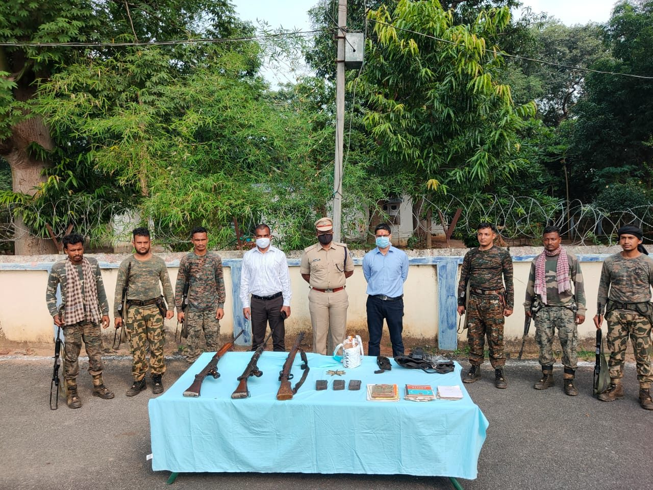 Maoist hideout busted in Malkangiri; arms, ammo seized