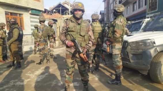 Two soldiers killed in drive-by shooting on Srinagar's outskirts