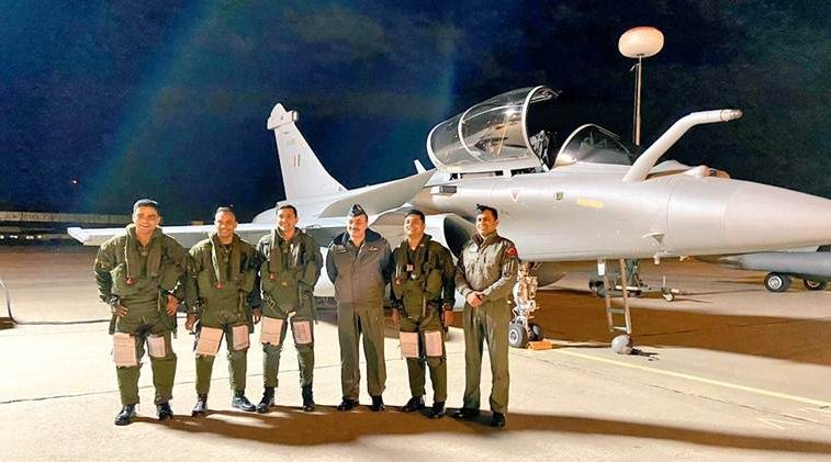Second batch of 3 Rafale combat aircraft arrive in India