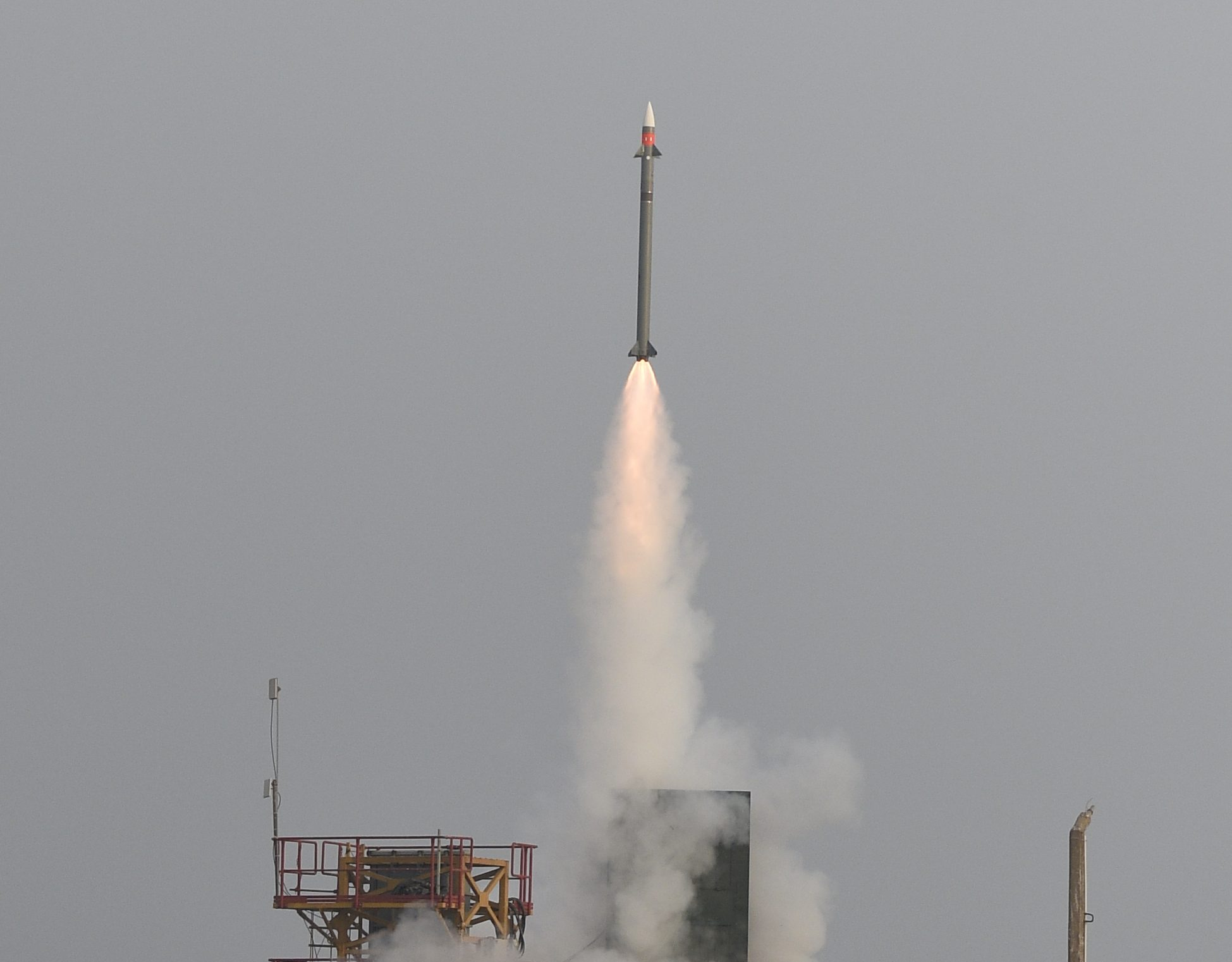 India test-fires medium-range missile off Odisha coast