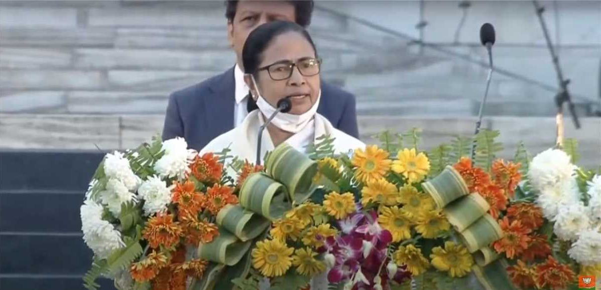 'Jai Shri Ram' slogan angers Mamata during Netaji's birth anniversary