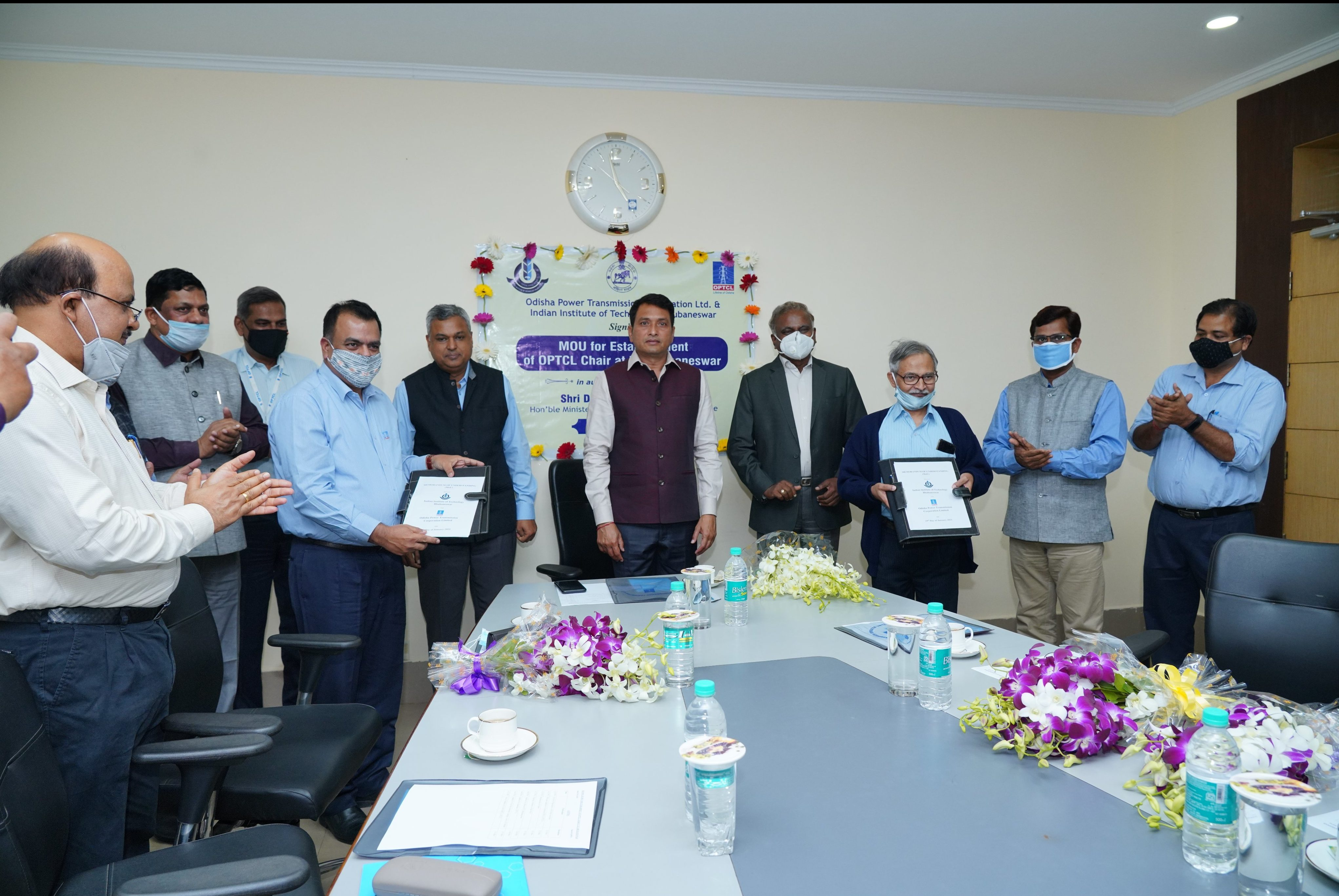 OPTCL signs MoU with IIT-Bhubaneswar for power sector development