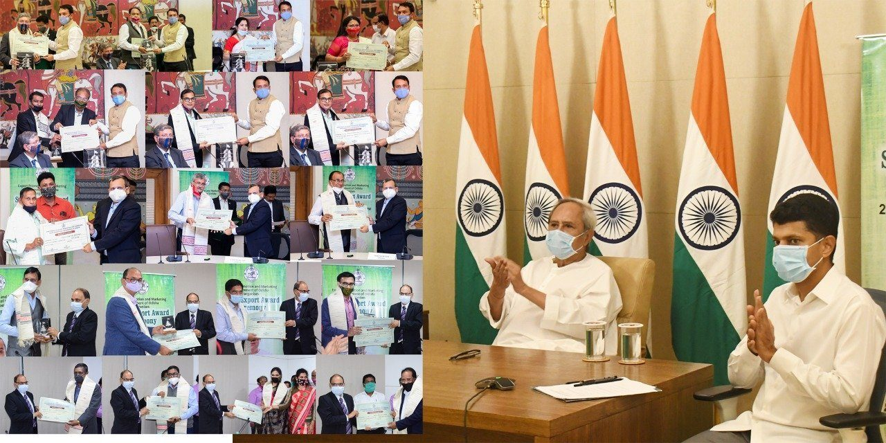 Naveen hails outstanding achievement by exporters of Odisha