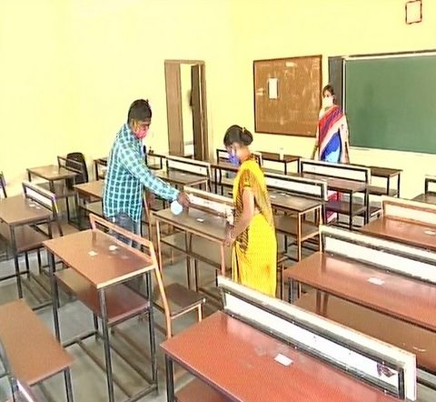Schools reopen in Odisha for students of Classes 10 & 12