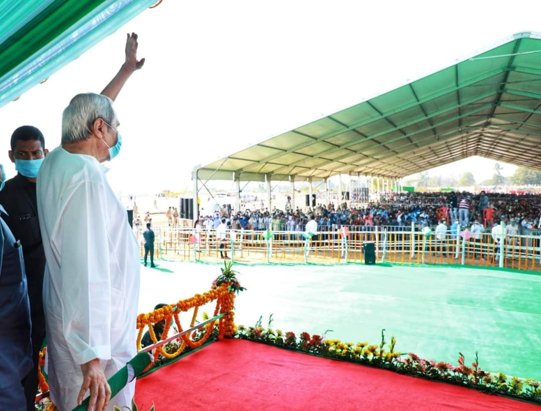 Kalahandi no longer land of hunger, now Odisha's rice bowl: Naveen