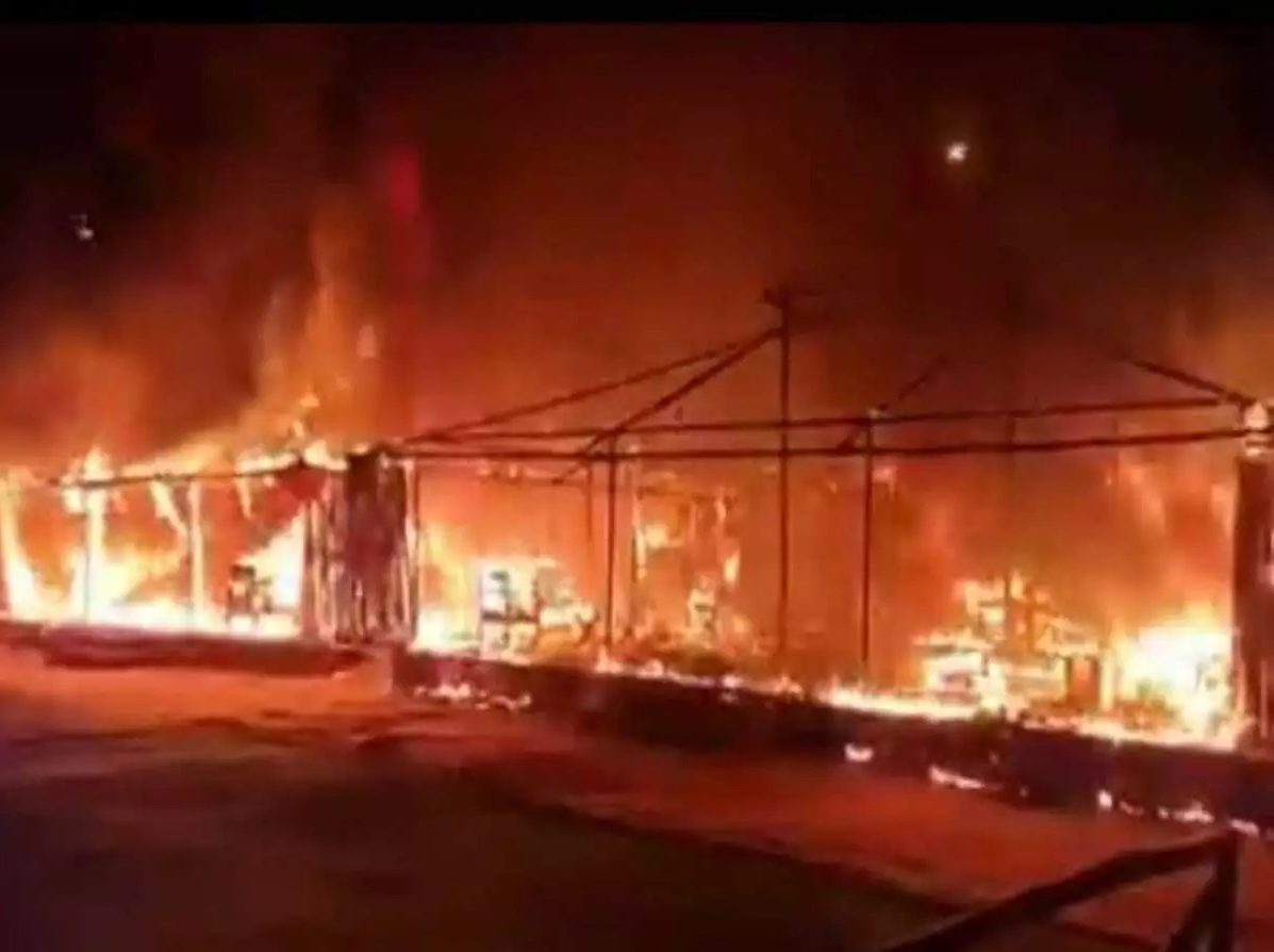 Fire breaks out at Eco Retreat facility in Satkosia