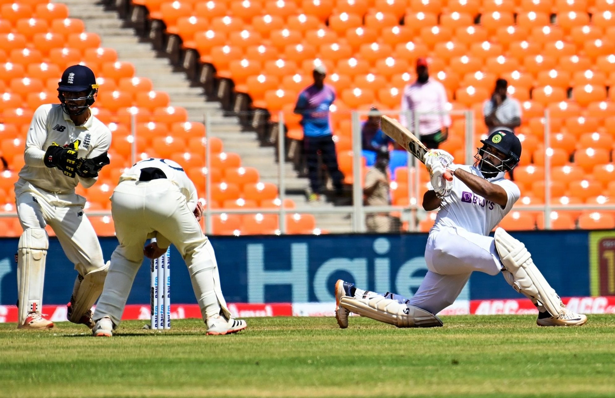 Pant's ton gives India significant lead vs England