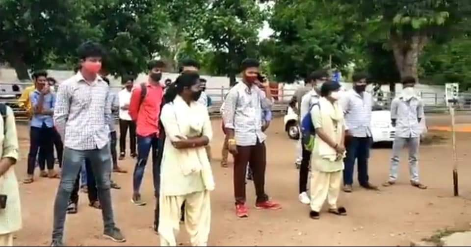 Plus II students demand cancellation of their annual exam