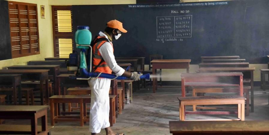 Classroom teaching for Standard 9 & 11 students suspended