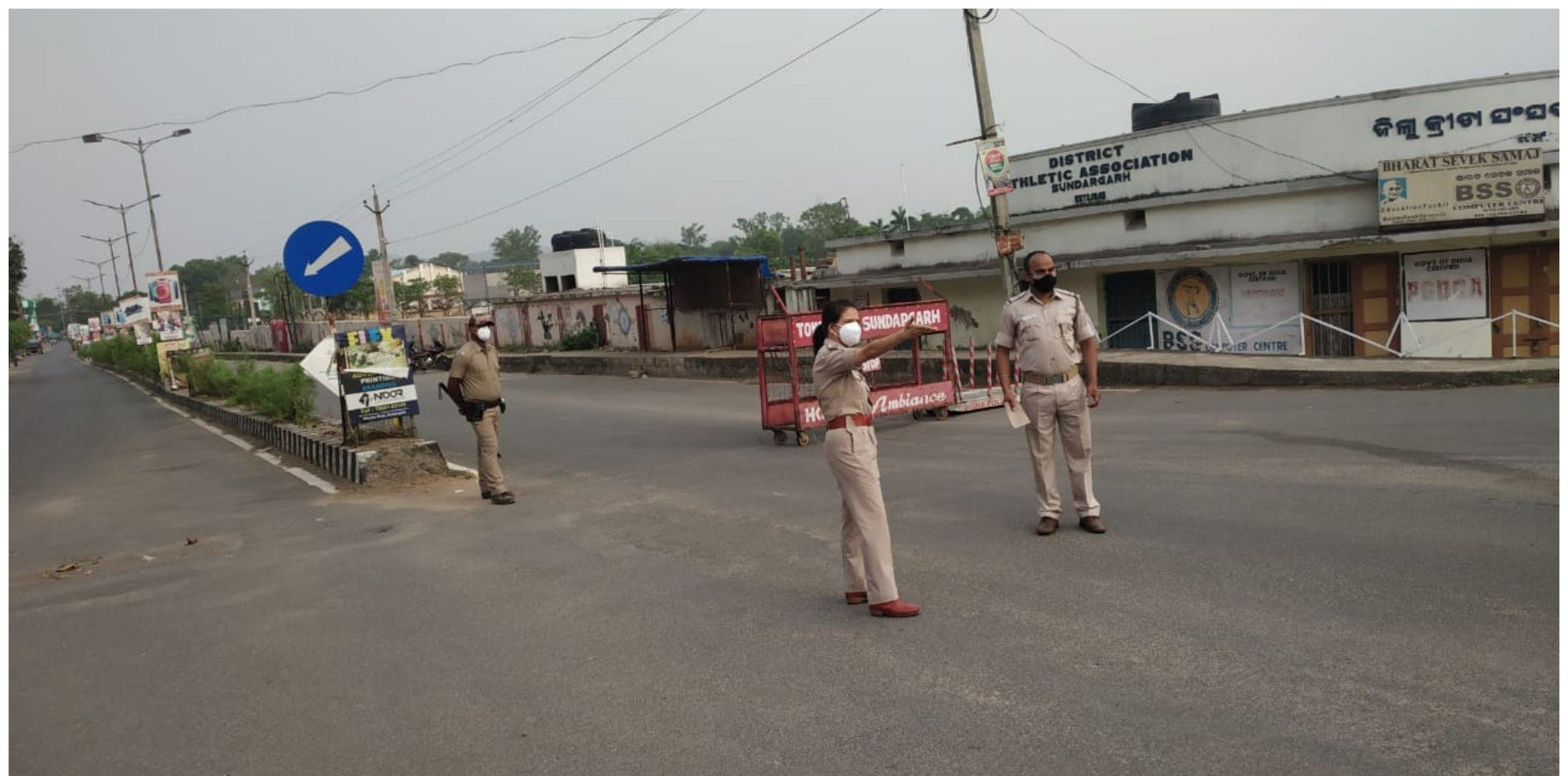 Roads empty as 14-day lockdown comes into effect in Odisha