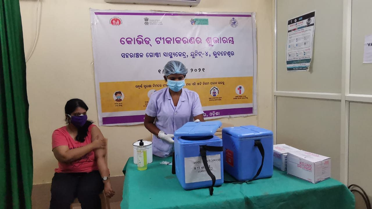 Vaccination drive to continue during lockdown and shutdown in Odisha