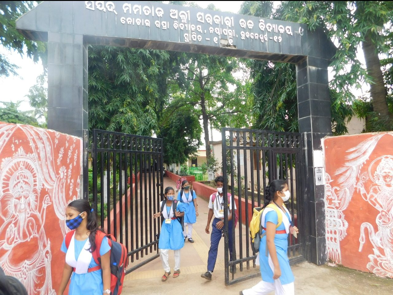 Schools reopen for students of Classes 10 & 12 in Odisha