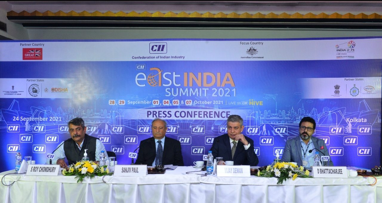 CII's 1st East India Summit from Sept 28-Oct 7